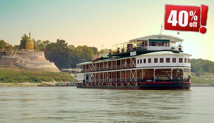 Myanmar Irrwaddy Cruise