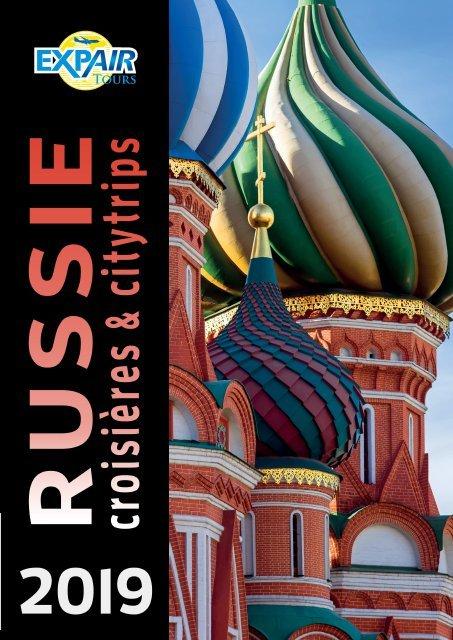 Russie croisières & citytrips 2019